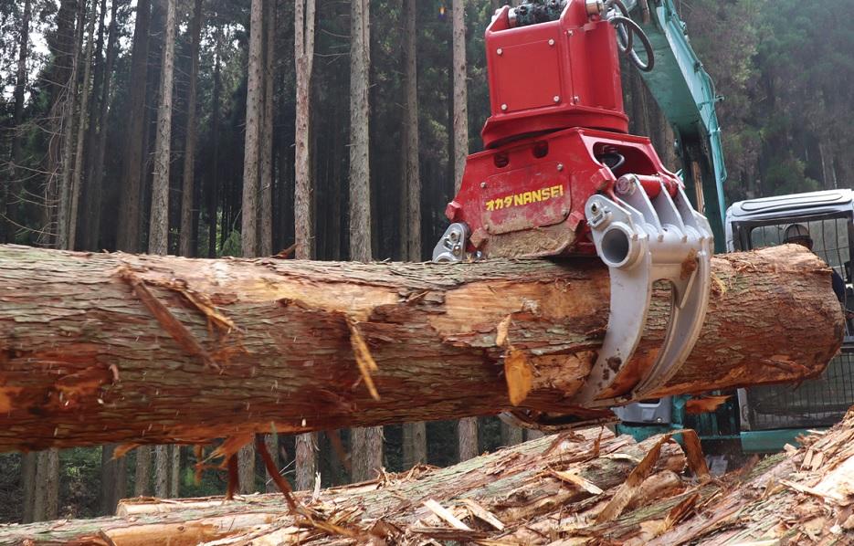 木材用グラップル A28ML1  ④