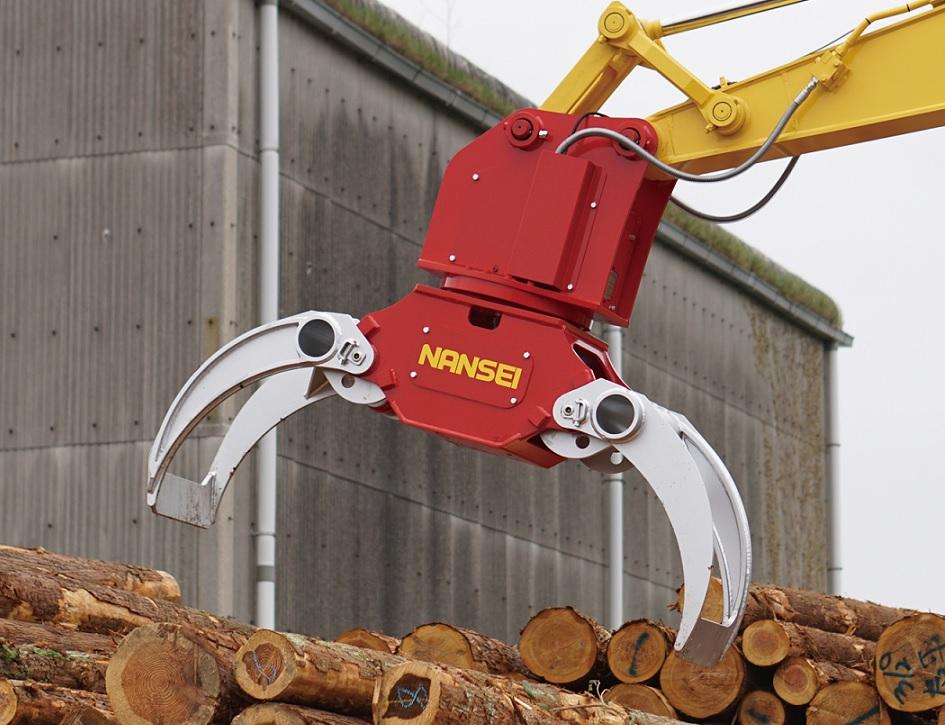 木材用グラップル A45MR1  ⑤