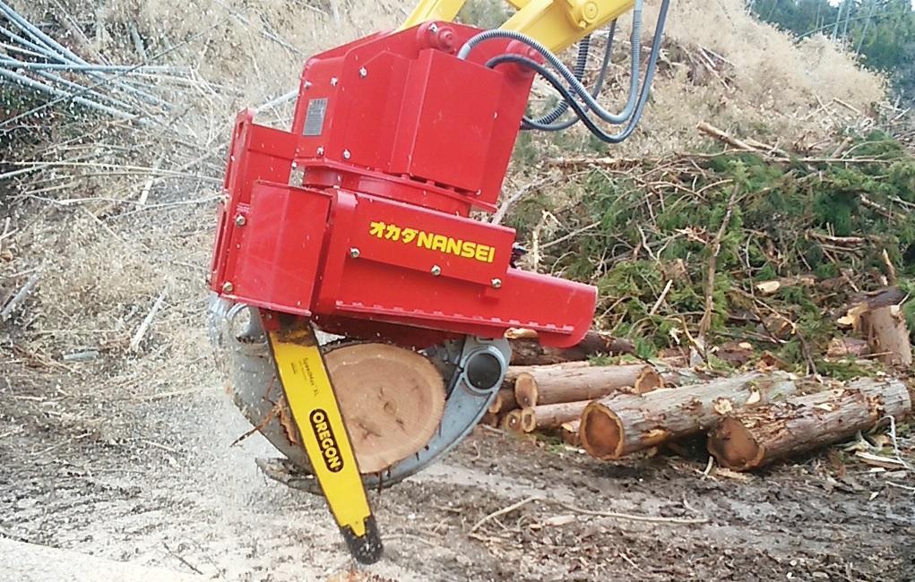 木材用グラップルソー A25PLSD1