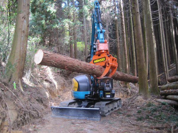 木材用グラップル