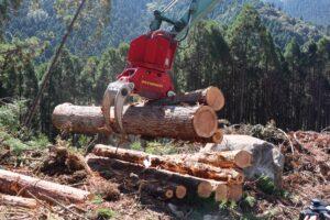 新型木材用グラップルA28ML1