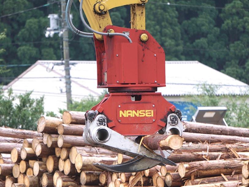 木材用グラップル 選木用  ①