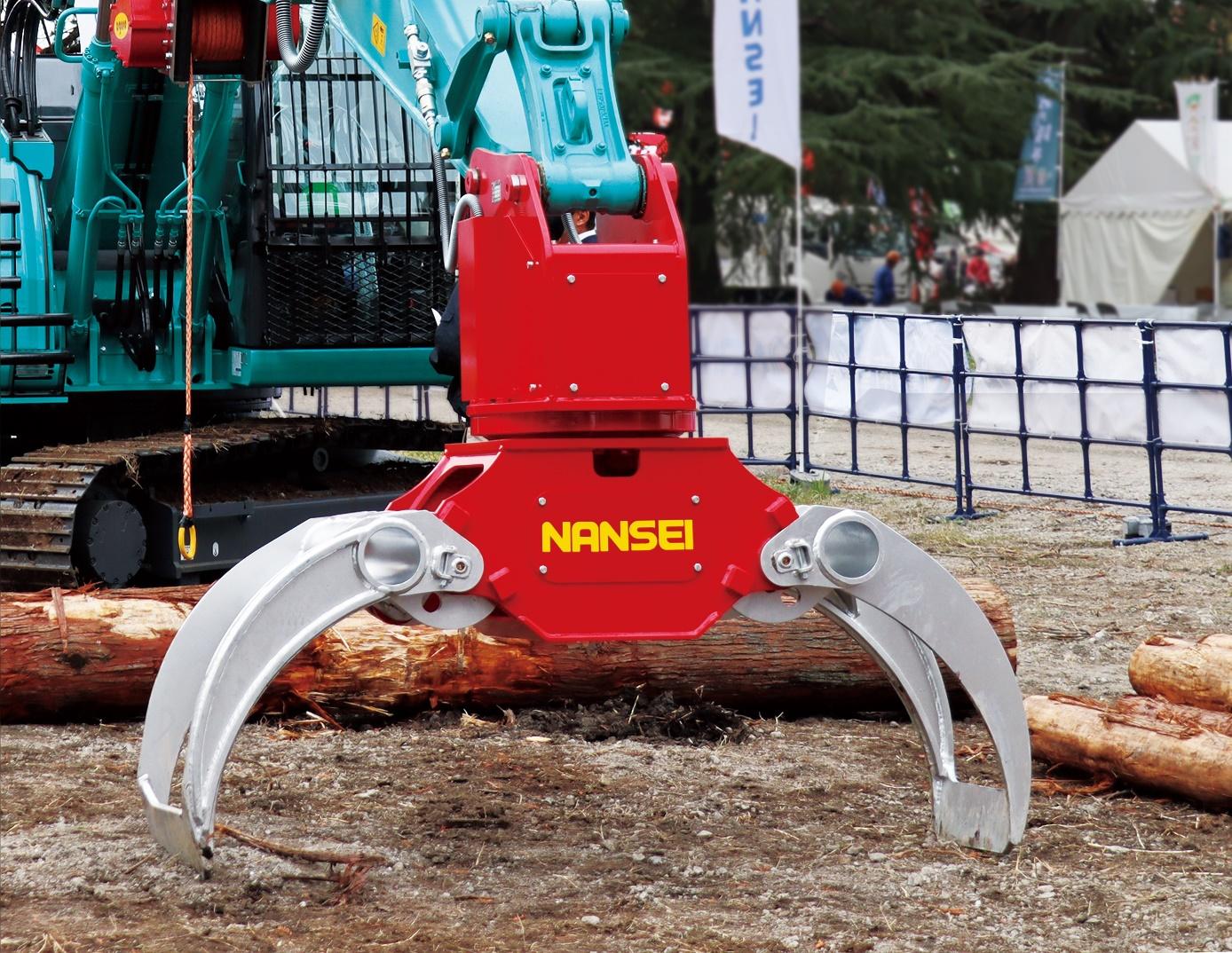 木材用グラップル A45MR1  ②