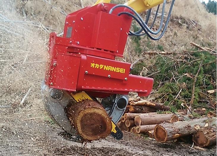 木材用グラップル A25PLSD1  ①
