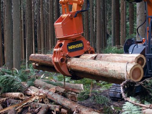 木材用グラップル(A25ML1)